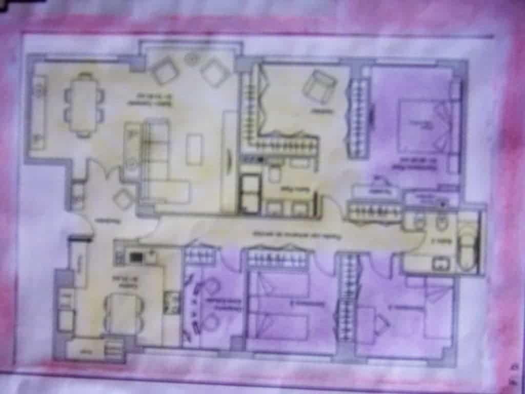 Plano de una casa. Por Kefrem