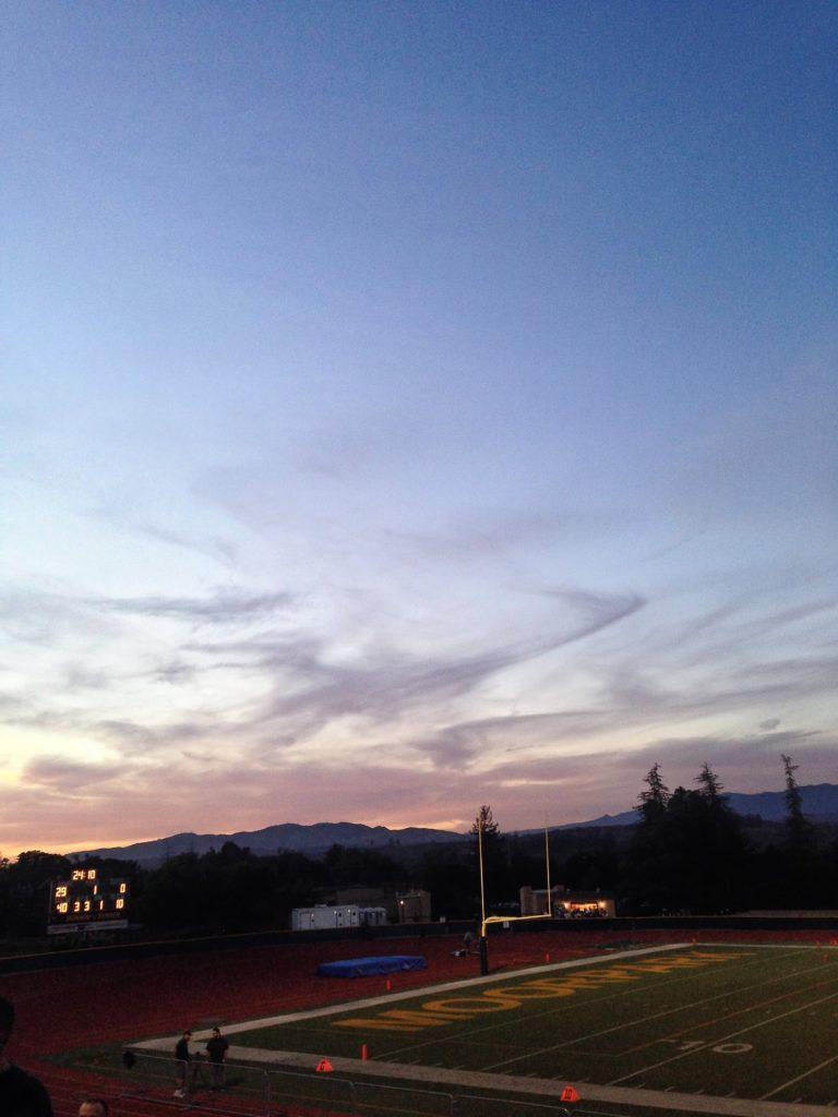 El campo de fútbol. Por Noah